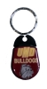 UMD Bulldog Head Can Opener Keychain by Whozie