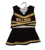 Infant/Toddler Bulldogs Cheerleader Outfit by Third Street