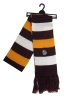 Bulldog Head Striped Scarf by The Game