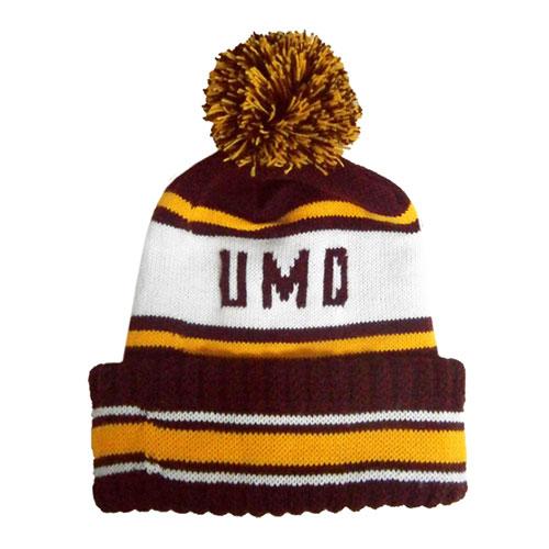 UMD Pompom Hat by Wear-A-Knit