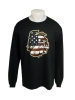 Bulldog Head Flag Long Sleeve Tee by Sigcon