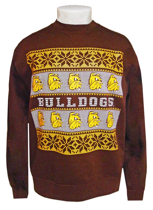 Bulldogs Winter Holiday Crew by Gear