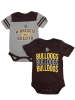 Boy Infant Bulldogs 2 Pack Onesie by Garb inc.