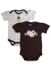 Girl Infant Bulldogs 2 Pack Onesie by Garbinc