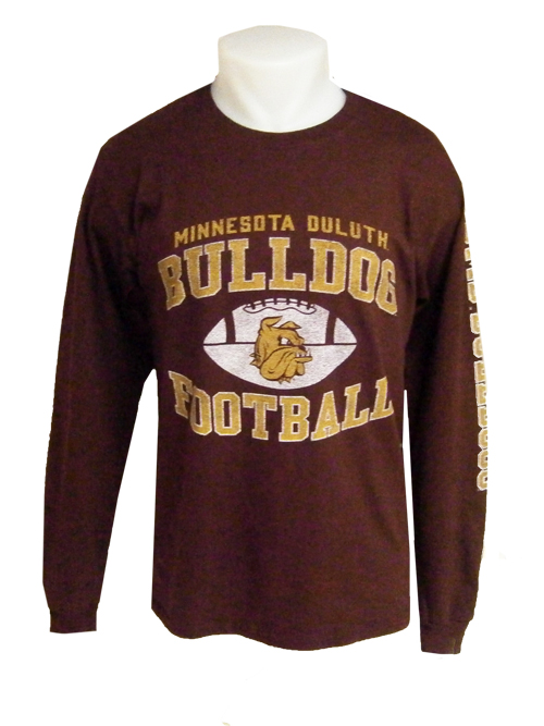 Minnesota Duluth Football Long Sleeve Tee by Gear