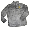 Women's Bulldog Head 1/4 Zip Sherpa by Boxercraft *
