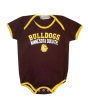 Infant Bulldogs MN Duluth Paw Print Onesie by Third Street