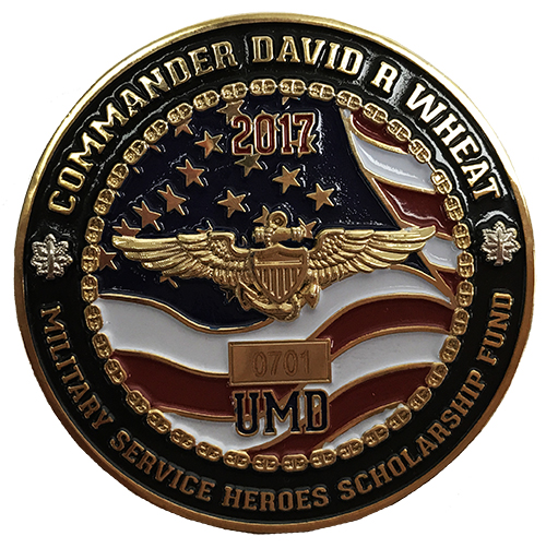 UMD Heros Fund 2017 Limited Edition Coin