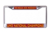 NCAA 2018 Hockey Championship License Plate Frame