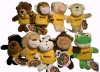 Plush Wild Bunch UMD Key Tags by Chelsea Teddy Bear