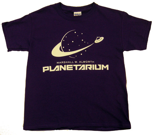 Image For Planetarium Glow in the Dark Tee by New Agenda