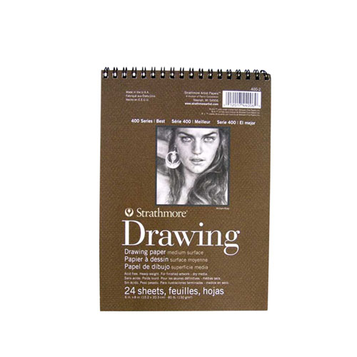 Image For Strathmore Drawing Pad 6x8