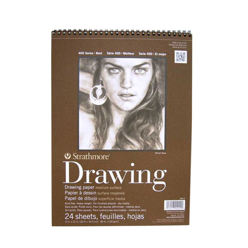 Image For Strathmore Drawing Pad 9x12