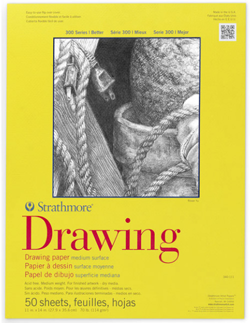 Image For Strathmore Drawing Pad 11x14