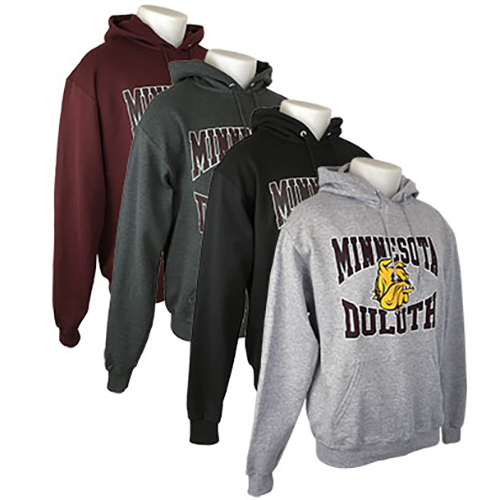Image For Minnesota Duluth Bulldog Hood by Champion