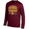 Image for 2019 Hockey National Champions Long Sleeve Tee by Champion