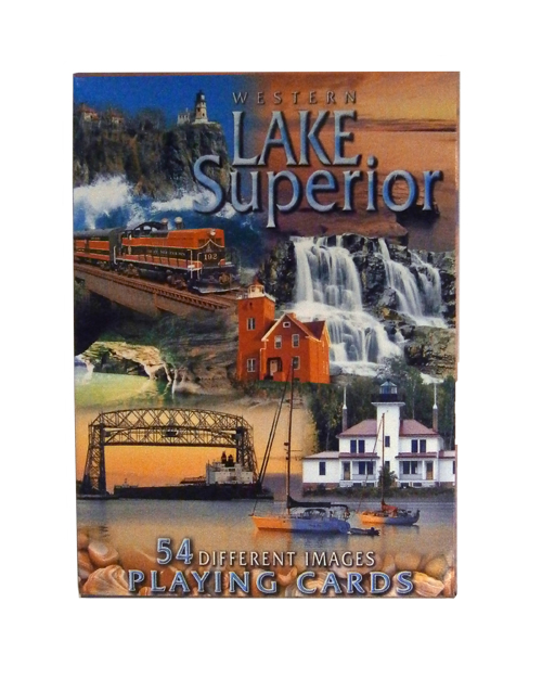 Image For Western Lake Superior Playing Cards