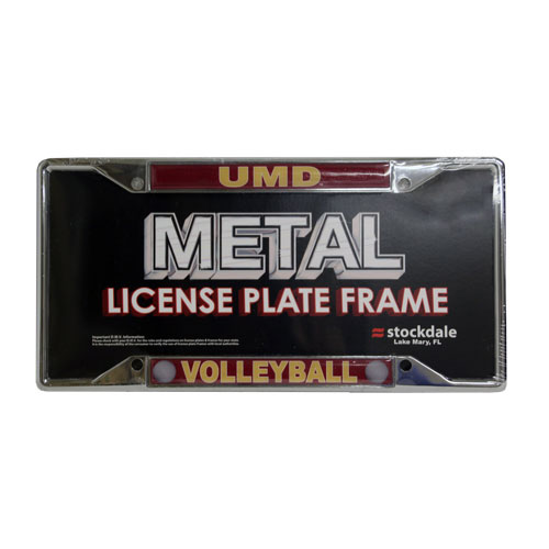 Image For UMD Volleyball License Plate Frame