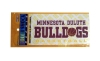 Image for Minnesota Duluth Basketball Decal by Color Shock