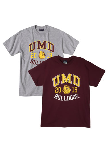 Image For 2019 UMD Bulldogs Grad Tee by MV Sport