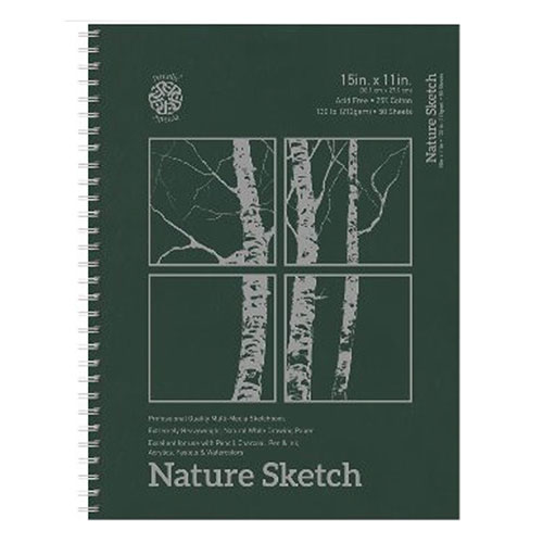 Image For Nature Sketch by Pentalic - 11x15