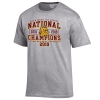 Image for 3x NCAA Hockey National Champions Bulldog Head Tee by Gear