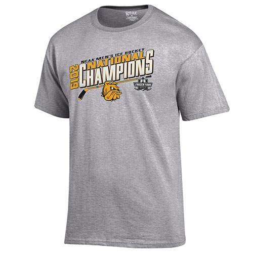 Image For 2019 NCAA Hockey National Champions Locker Room Tee by Gear