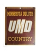 Image for Minnesota Duluth UMD Country Wooden Sign