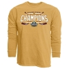 Image for Bulldog Hockey 2019 NCAA Champions Long Sleeve Tee - Blue 84