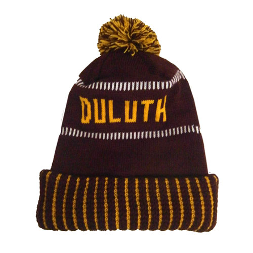 Image For Minnesota Duluth Pompom Hat by Wear-A-Knit
