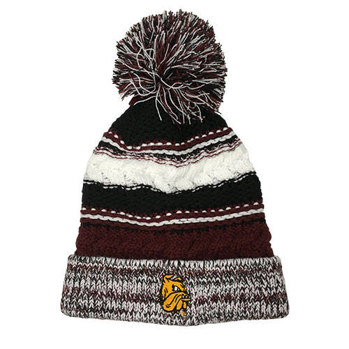 Image For Bulldog Head Multi-Knit Hat by The Game