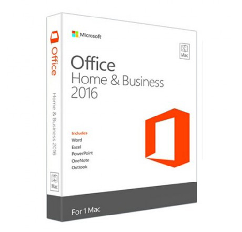 Image For Microsoft Office: Mac 2016 Home & Student - 1 Mac