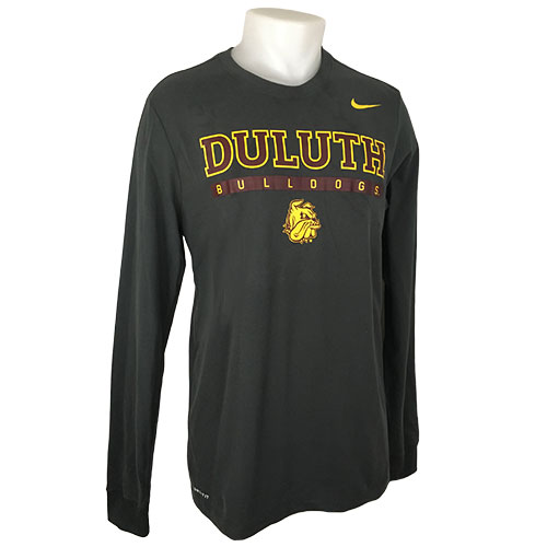 Image For Duluth Bulldogs Long Sleeve Dri-FIT Tee by Nike