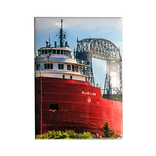 Image For William A. Irvin and Aerial Lift Bridge Magnet