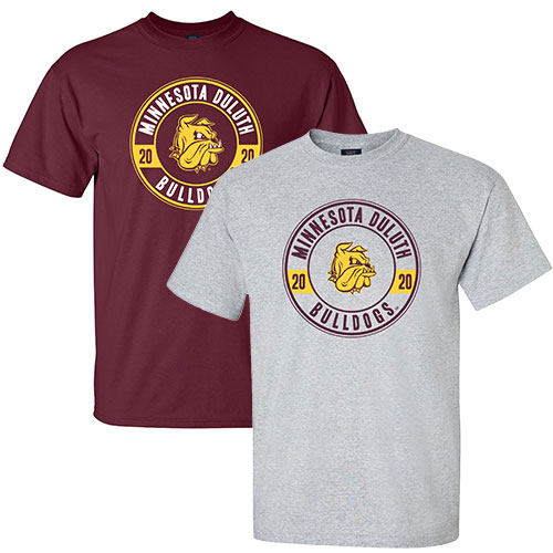 Image For 2020 Minnesota Duluth Bulldogs Grad Tee by MV Sport