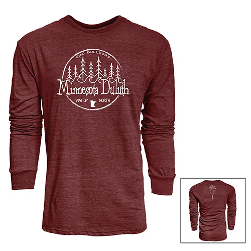 Image For *Minnesota Duluth Way Up North Long Sleeve Tee by Blue 84