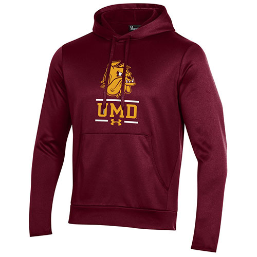 Image For *Bulldog Head UMD Armour Fleece Hood by Under Armour