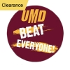 """Cover Image for Beat Everyone UMD Button 3"""" by CDI Corp - CLEARANCE"""