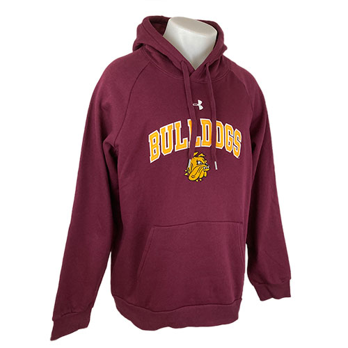 Image For *Bulldogs Fleece Hood by Under Armour
