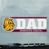 Image for Dad Bulldog Head Minnesota Duluth Decal