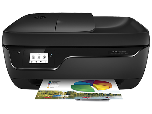 Image For HP OfficeJet 3830 All-In-One Printer