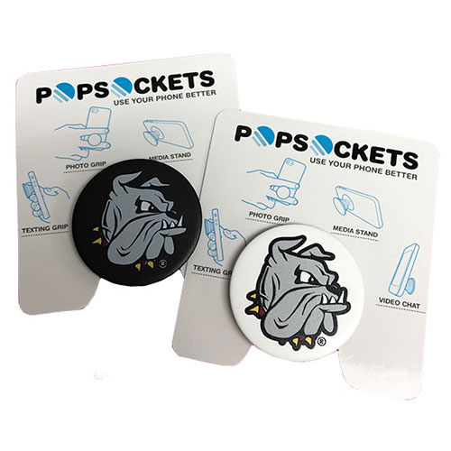 Image For Bulldog Head Pop Socket by Popsocket