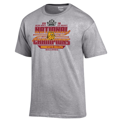Image For NCAA 2018 Hockey Championship Locker Room Tee by Gear