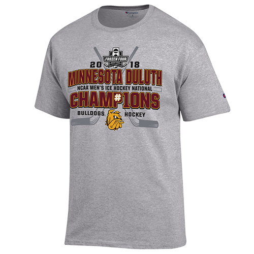 Image For Youth NCAA 2018 Hockey Championship Tee by Champion