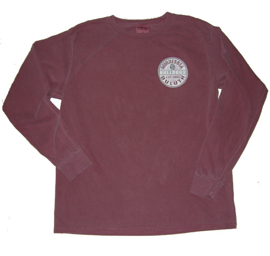 Image For Minnesota Duluth Bulldogs Overdyed Long Sleeve by Blue 84