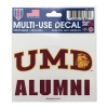 Image for UMD Alumni Decal 3x4 by Wincraft