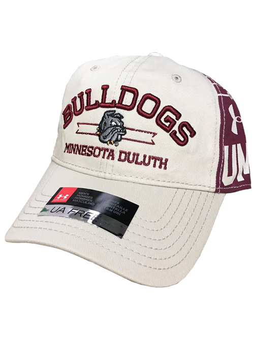 725551102b4 Bulldogs Minnesota Duluth Adjustable Cap by Under Armour