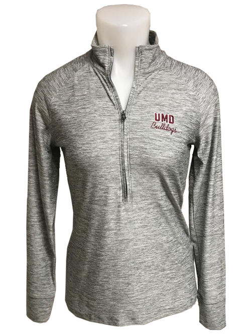 Image For Women's UMD Bulldogs Quarter Zip by Under Armour