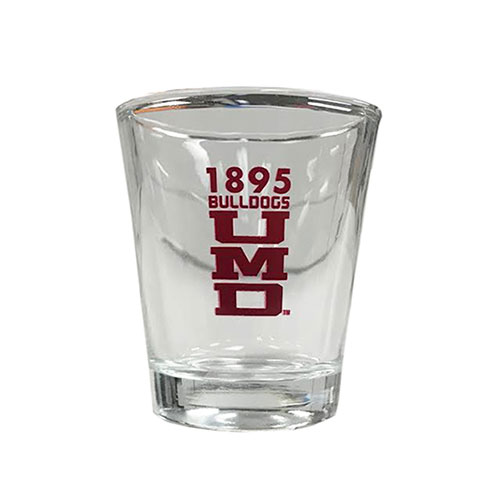 Image For 1895 UMD Bulldogs Shot Glass