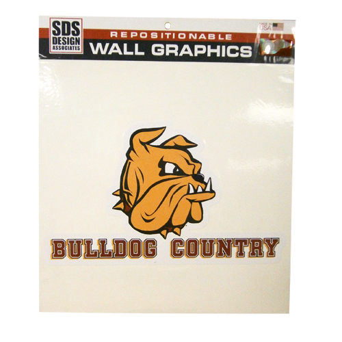 "Image For 12"" Bulldog Head Country Wall Graphic by SDS"